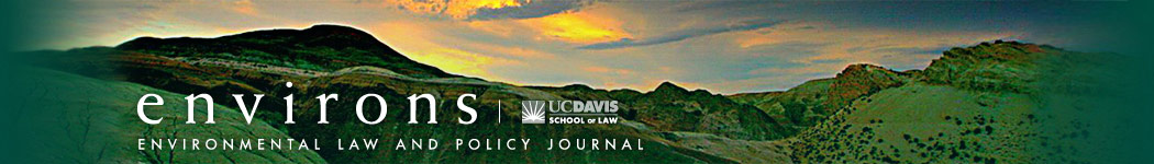 Environs Law and Policy Journal Logo
